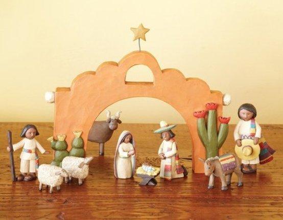 "Southwest Nativity 4"""
