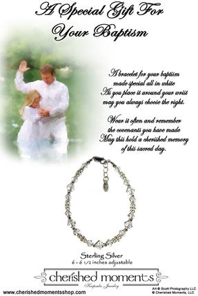 Baptism Bracelet (Crystals)