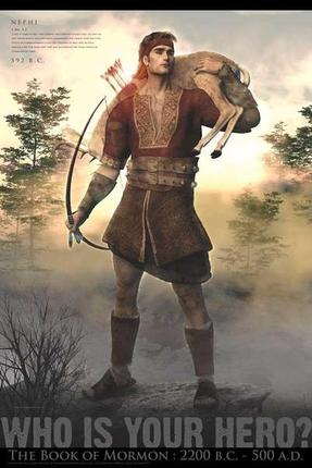 Nephi Hunting (11x17 Poster)