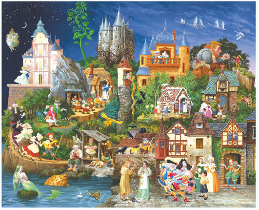 Fairy Tales 1500 Piece Puzzle