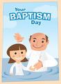 Girlbaptismcartoon