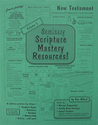 Seminary Scripture Mastery Resources: New Testament, Vol. 2