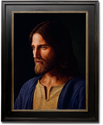 Jesus of Nazareth (19x25 Framed Art)