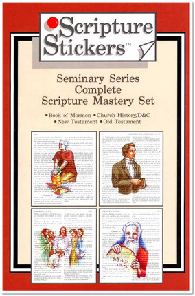 Scripture Stickers: Seminary Series, Complete Set