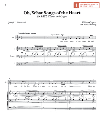 Oh What Songs Of The Heart Sheet Music Download Deseret Book