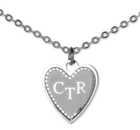 ctr necklace silver deseret book