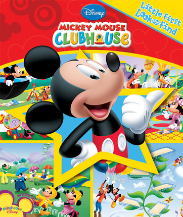 2fe91cb6199 Mickey Mouse Clubhouse  Little First Look and Find - Deseret Book
