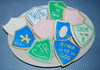 Shield cookies