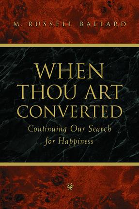 When thou art convertedsm