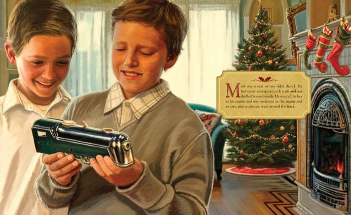 The Christmas Train By Thomas S Monson
