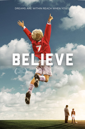 Believe key art dvd