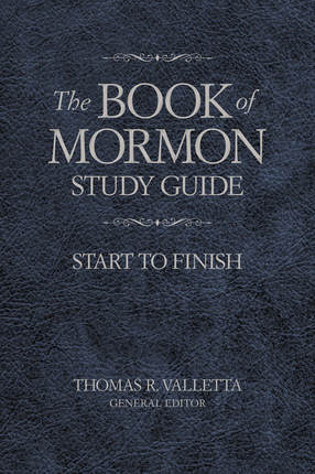 Book of mormon study guide cover