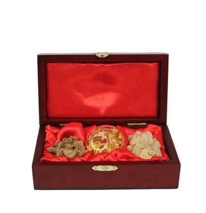 gold frankincense and myrrh box - Gold Frankincense And Myrrh Christmas Gifts