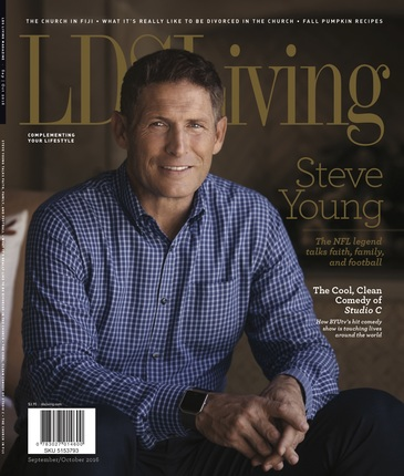 Lds living september october cover
