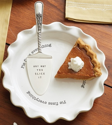 Pie Plate and Server Set
