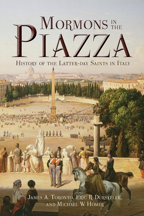Mormons in the piazza