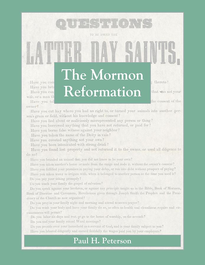 The Mormon Reformation