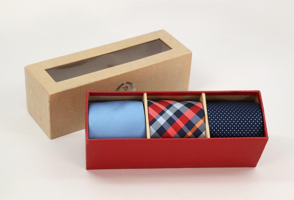 Blue tones tie set