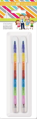 Families are forever stackable crayon packaged p20035 %281%29