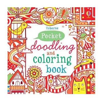 usborne pocket doodling and coloring book - Usborne Coloring Books