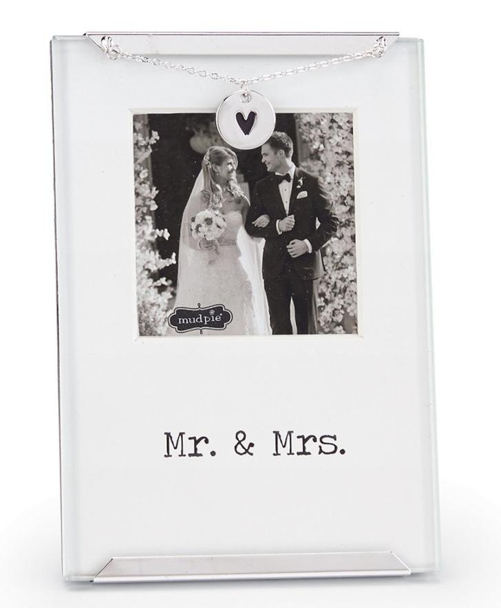 mr mrs frame - Mr And Mrs Photo Frame