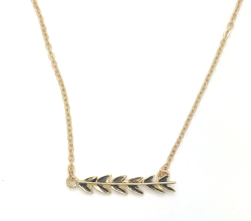 jewelry diamonds branch with silver necklace in sterling olive