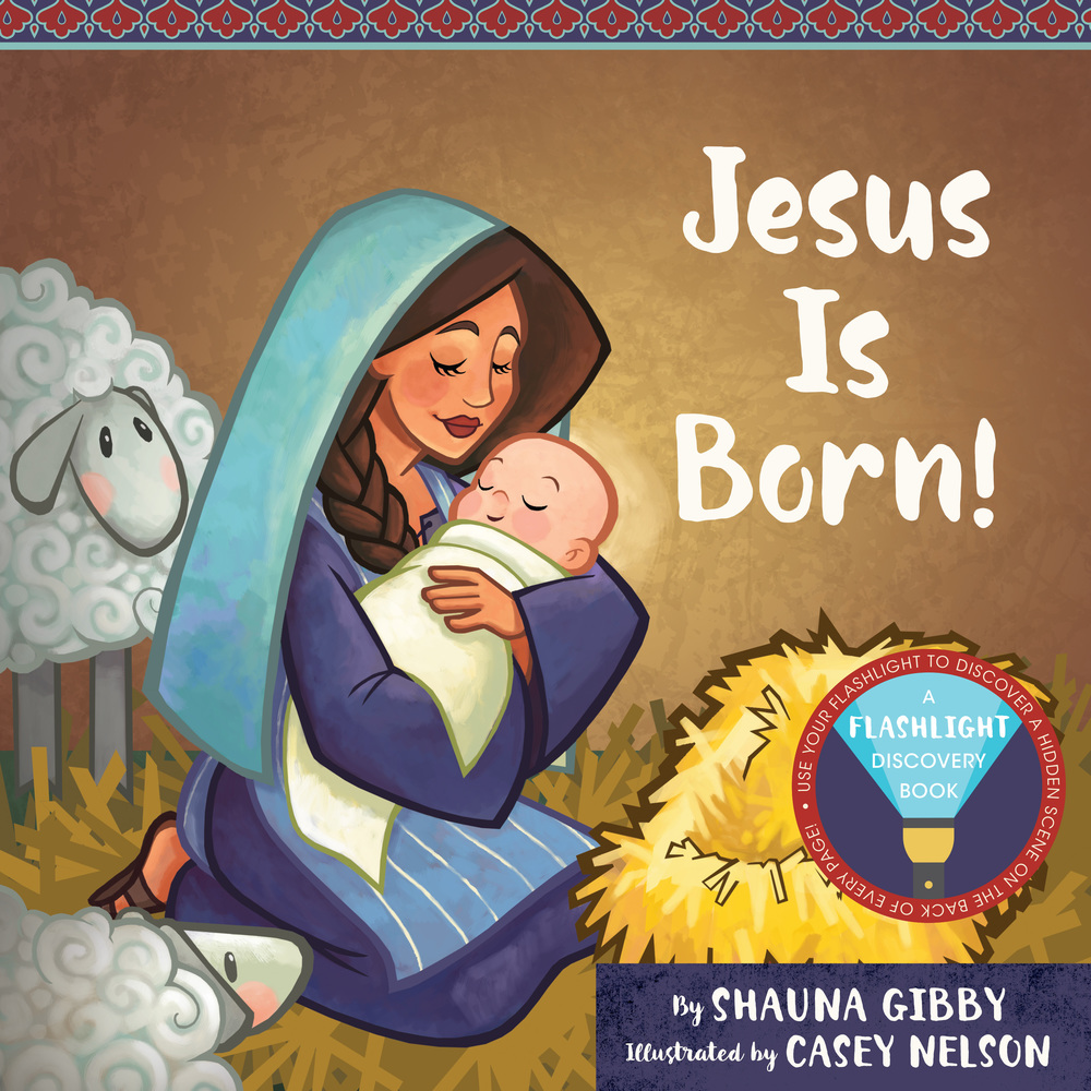 Jesus is born a flashlight discovery book