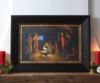 The nativity %2824x33 framed art%29