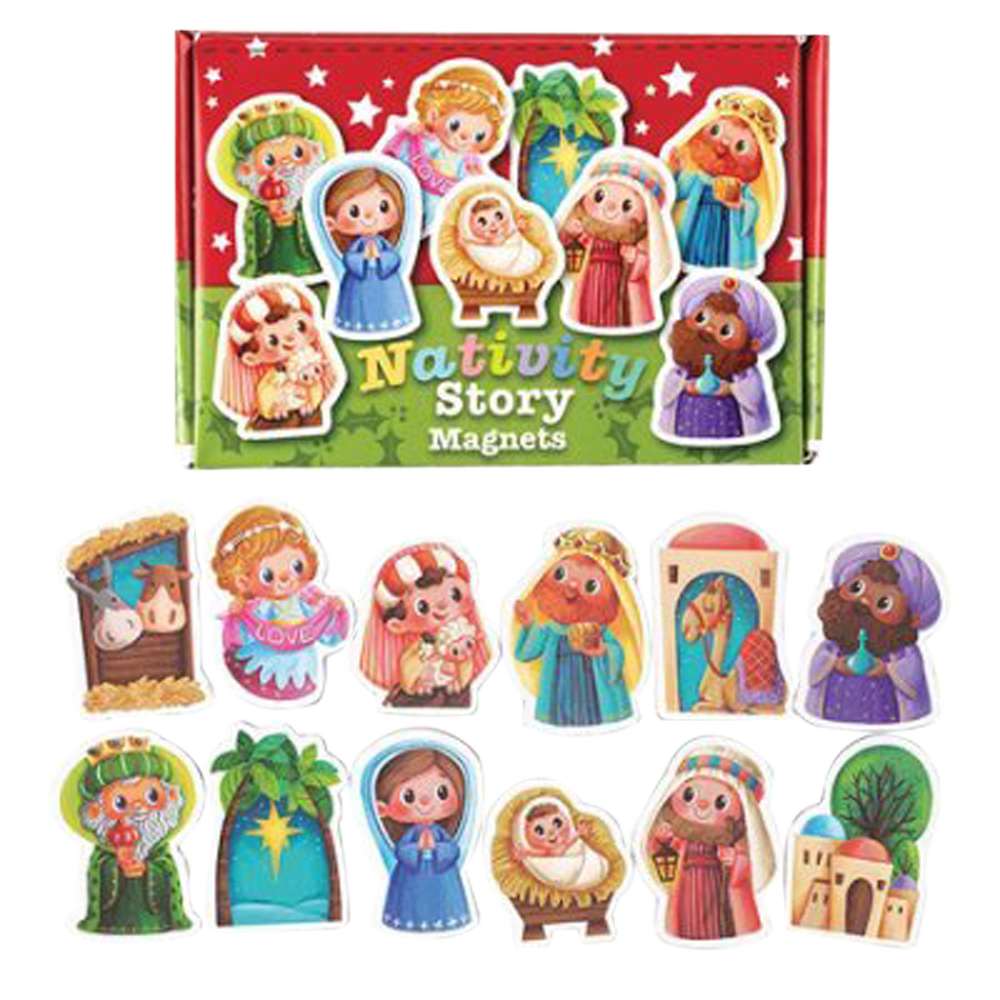 Nativity Magnet Set (12-Piece Set)