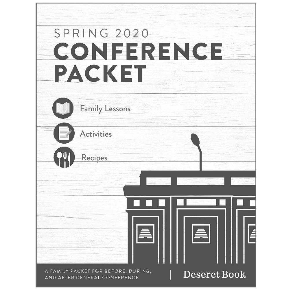 Deseret Book General Conference Prep Packet April 2020 Deseret Book
