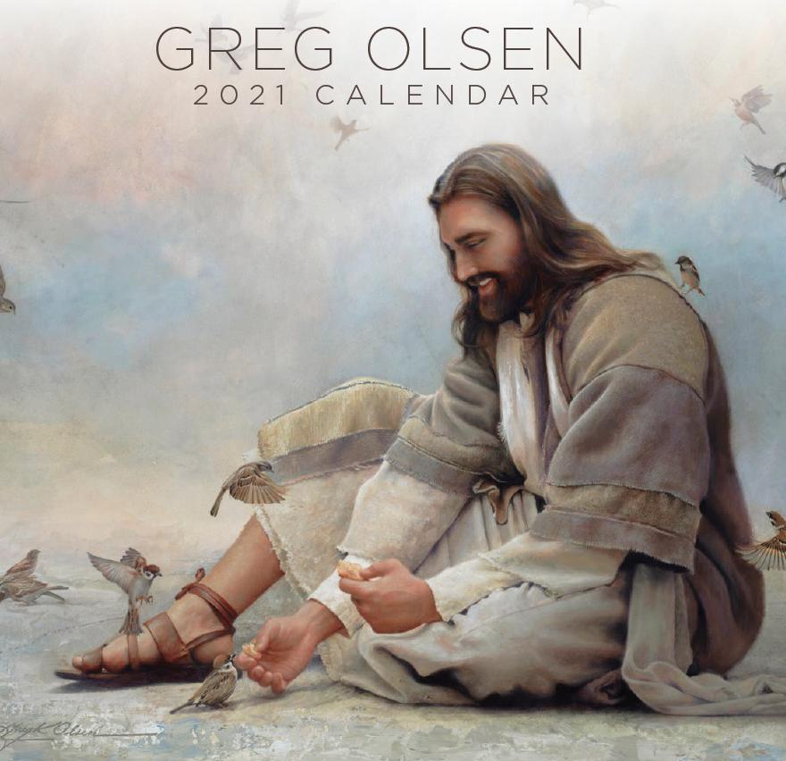 2021 Greg Olsen Calendar